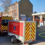 FW-LK Leer: Wohnungsbrand in Leer - Großeinsatz in der Innenstadt