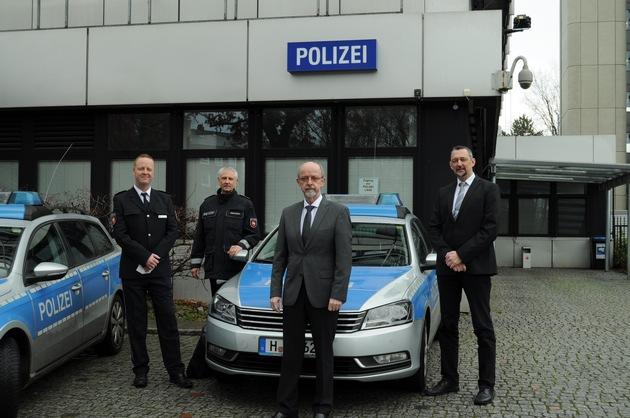 Read more about the article POL-H: Kriminaloberrat Alexander Fuhl ist neuer Leiter des Polizeikommissariats Lahe