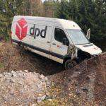 POL-PDPS: Alleinunfall infolge Sekundenschlaf - Sachschadenshöhe ca. 10.700 EUR