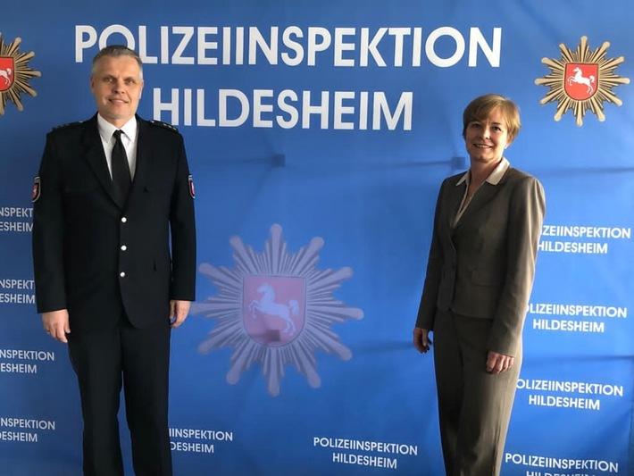 POL-GOE: Amtseinführung in der Polizeiinspektion Hildesheim: Michael Weiner offiziell als neuer Leiter begrüßt