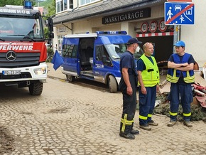 Read more about the article FW-LFVSH: Pressemitteilung im Auftrag des mobilen Führungsstabes Schleswig-Holstein Einheiten arbeiten Hand in Hand