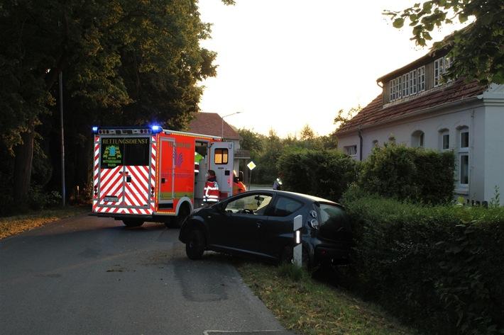 Read more about the article POL-MI: Drei verletzte Personen nach Verkehrsunfall
