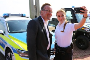 Read more about the article Osnabrück: Innenminister Pistorius besucht Polizei auf Norderney