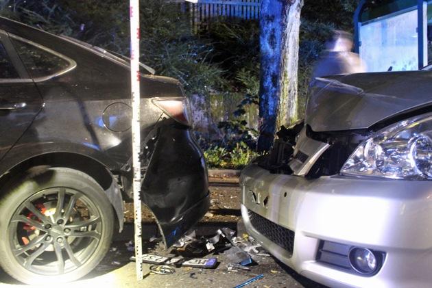 Read more about the article POL-ME: Zusammenstoß im Kreuzungsbereich – die Polizei ermittelt – Velbert – 2108159