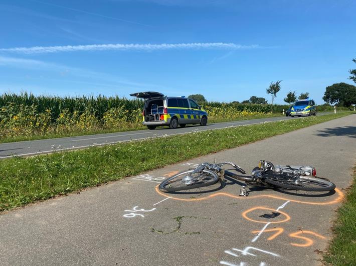 Read more about the article POL-KLE: Goch-Kessel- Verkehrsunfall Radfahrerin tödlich verletzt